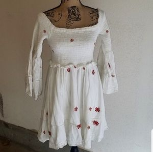 NEW LIST! Free People embroidered Dress